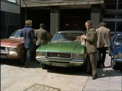 Ford cars supplied for the Sweeney, a great advert for the cars.