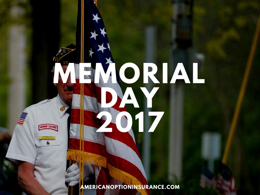 Memorial Day 2017 Memorial Day Memories Casualty Insurance