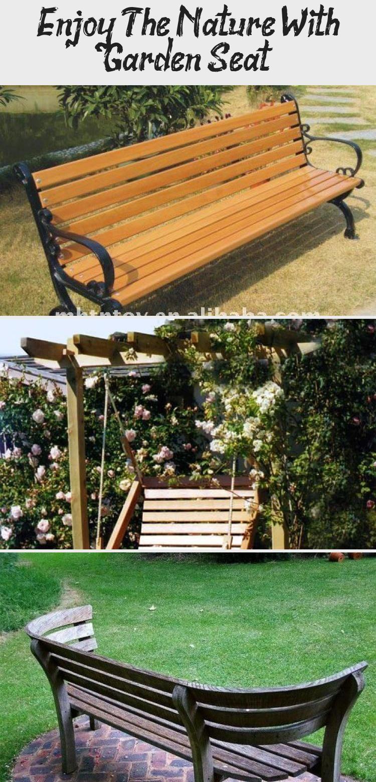 Enjoy The Nature With Garden Seat Garden In 2020 Garden Seating Garden Bench Seating Garden Bench Diy