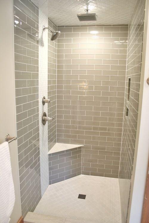 Modern Gl Subway Tile Shower Bella Native Interiors Denver Co