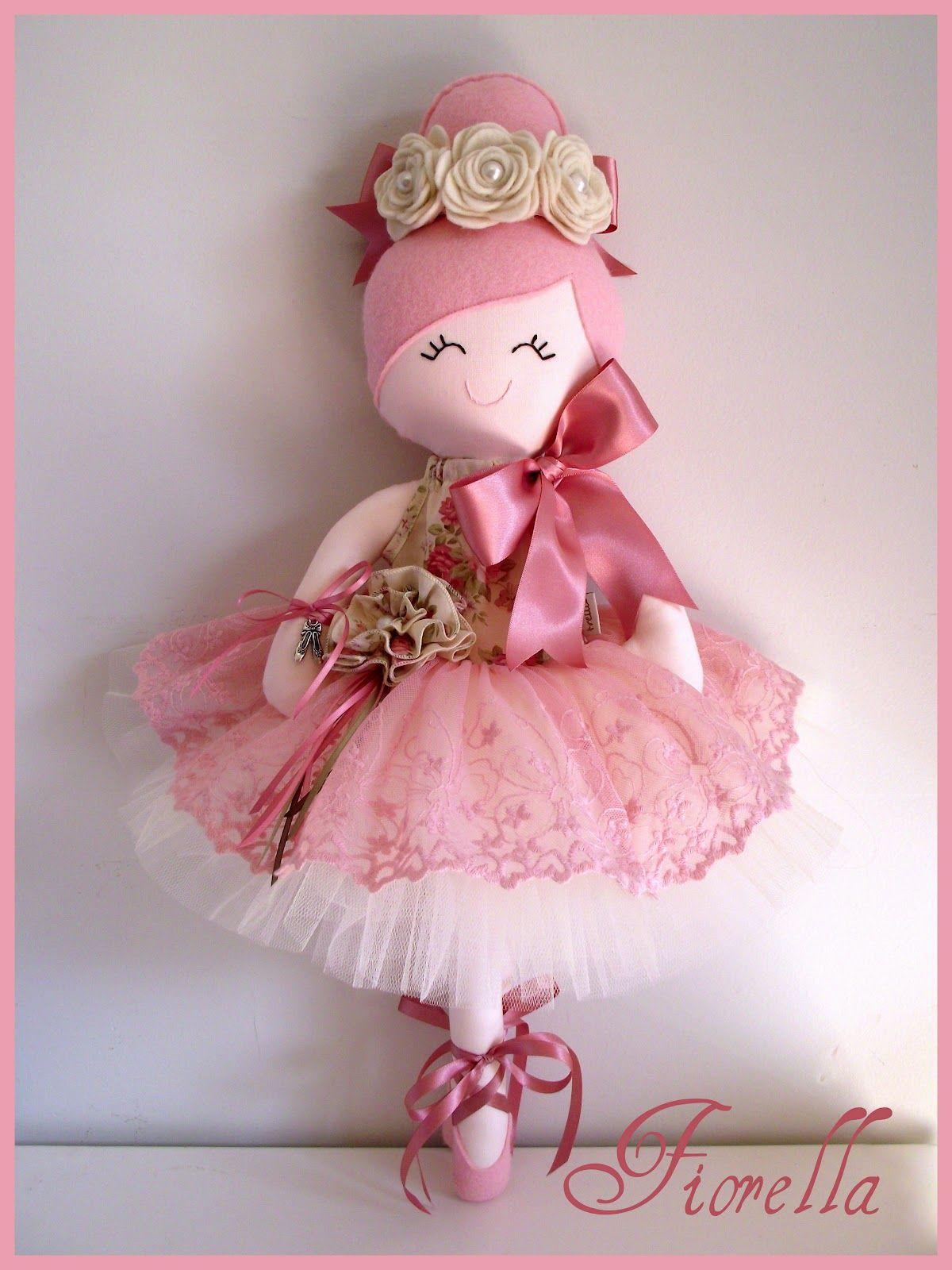 De Pano Bailarina en Pinterest | Muñecas De Trapo, Bonecas De Pano