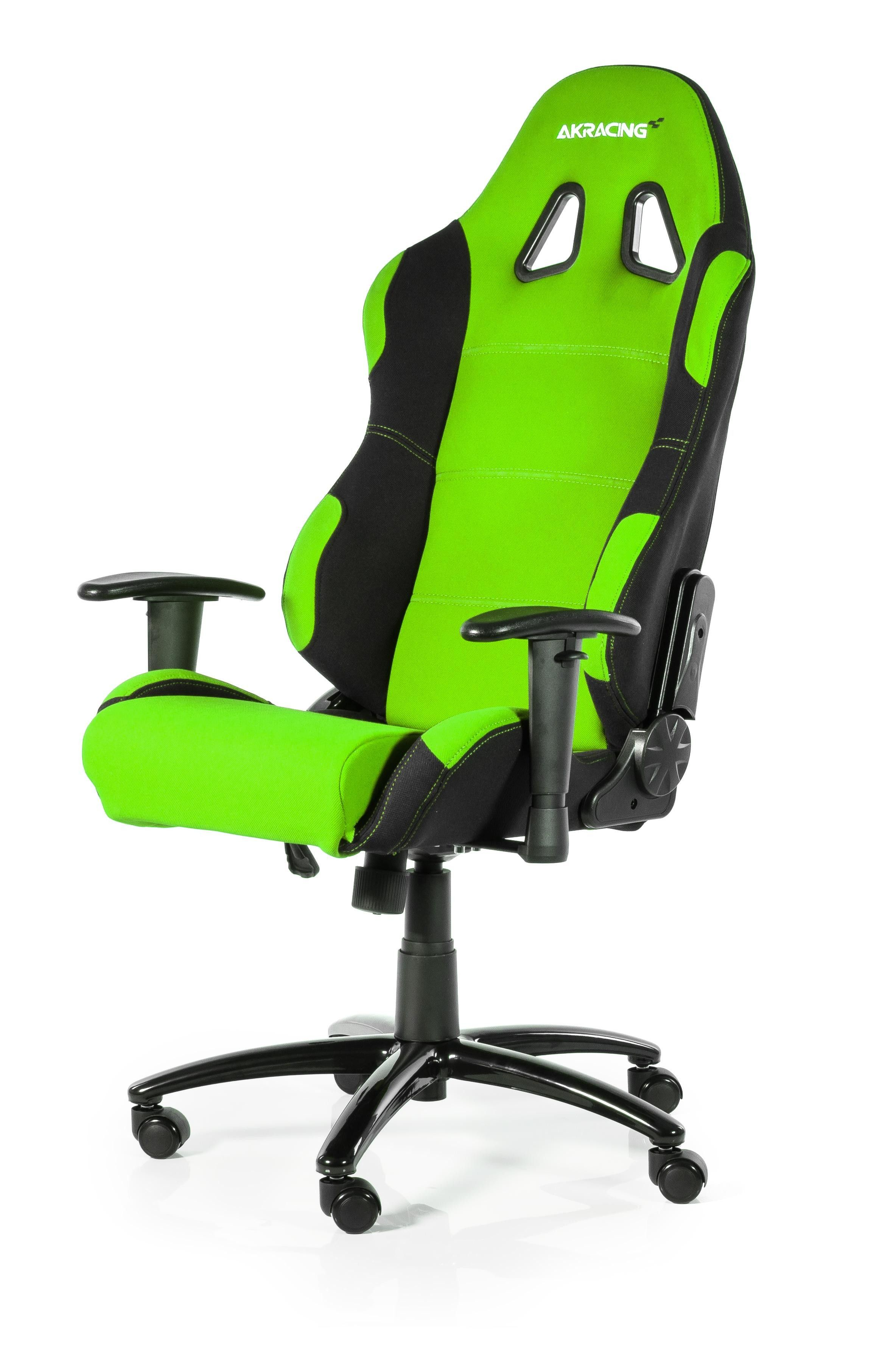 AKRACING Prime Gaming Chair Black Green WRGamers AKRacing