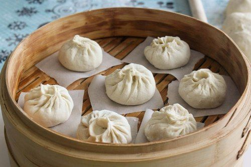 Chinese Steamed Meat Buns Baozi 包子 Recipe Meat Bun Steamed Meat Recipes