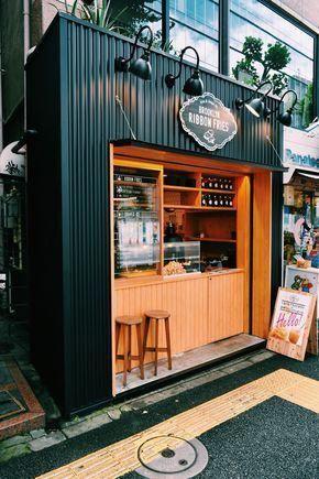 Coffee kiosk design