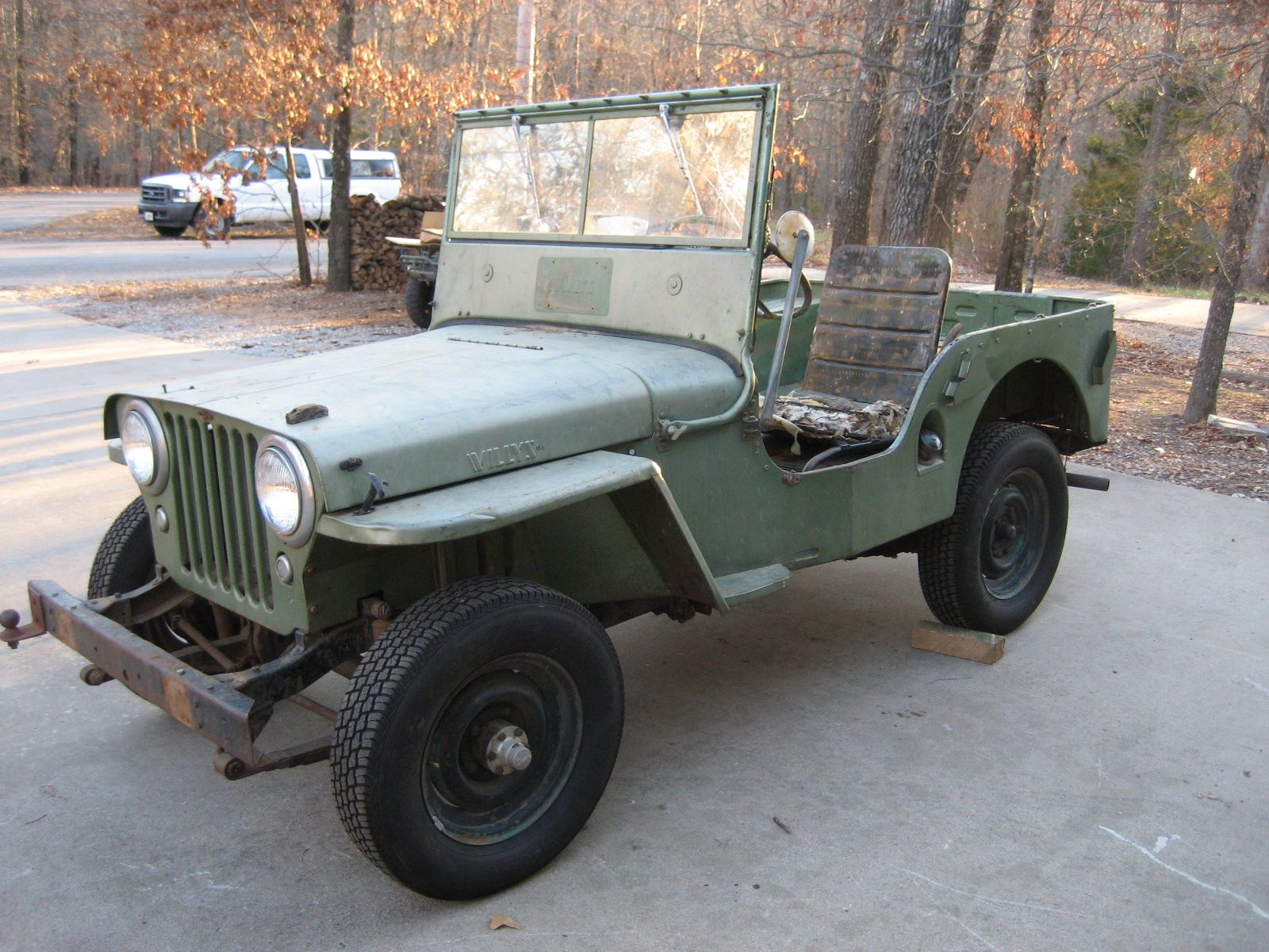 Listo Para Restaurar Willys Jeep Jeep Parts Jeep Cars