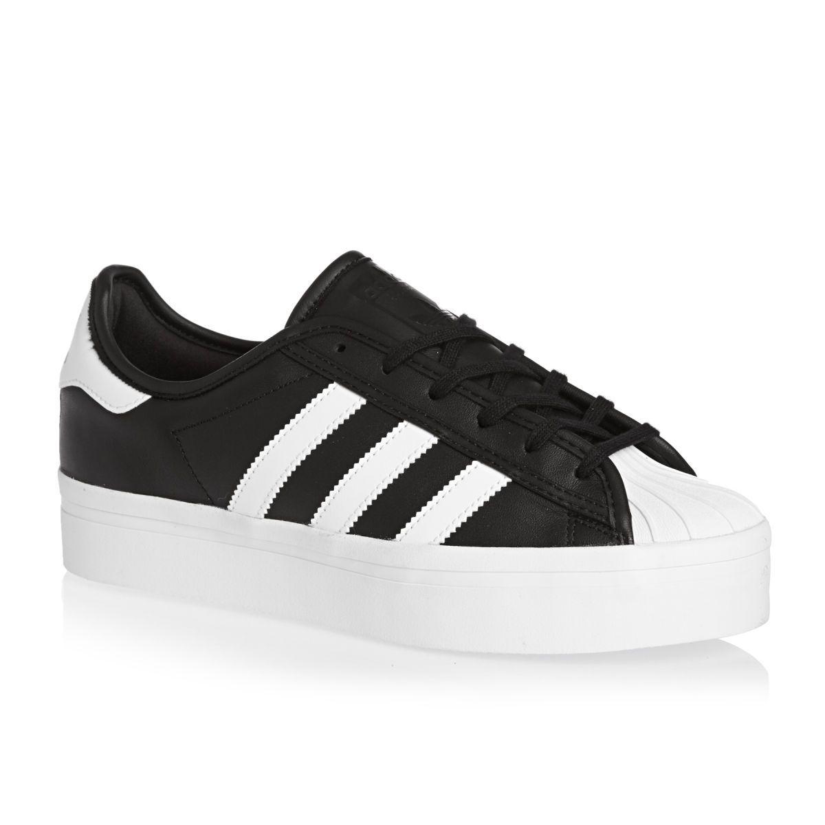 Impermeable recluta de madera  Adidas Originals Superstar Rize Shoes - Black/White/Black | Adidas shoes  originals, Adidas originals superstar, Black shoes