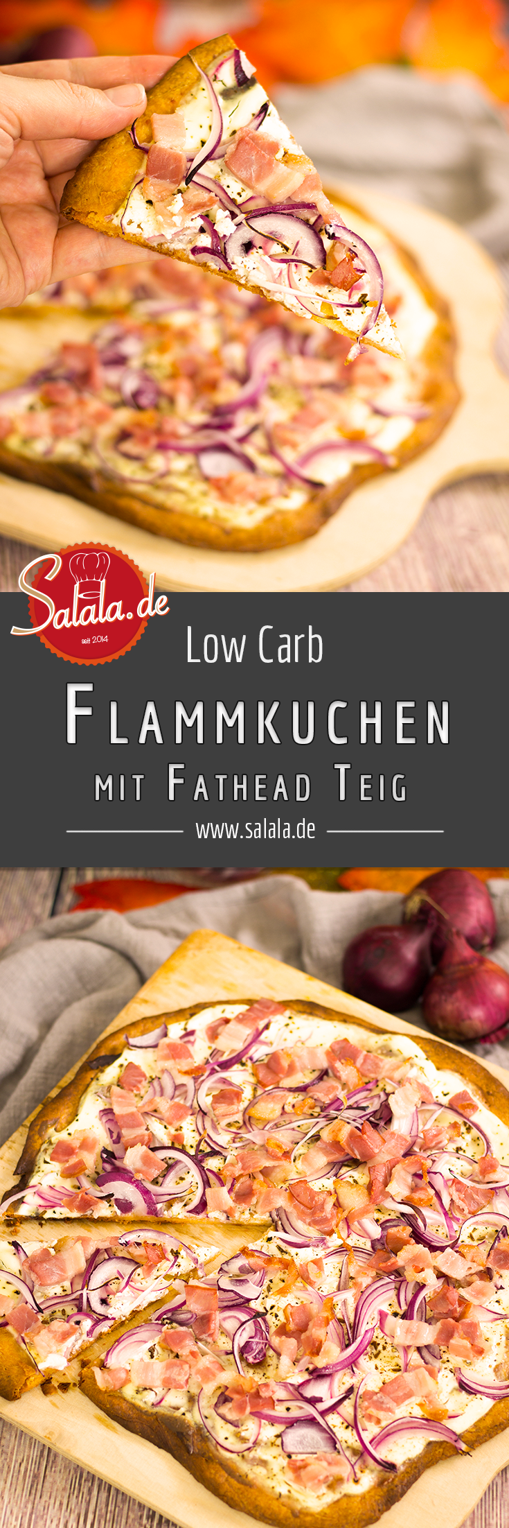 Photo of Flammkuchen with Fathead Dough – Low Carb Recipe | salala.de – Low carb made easy