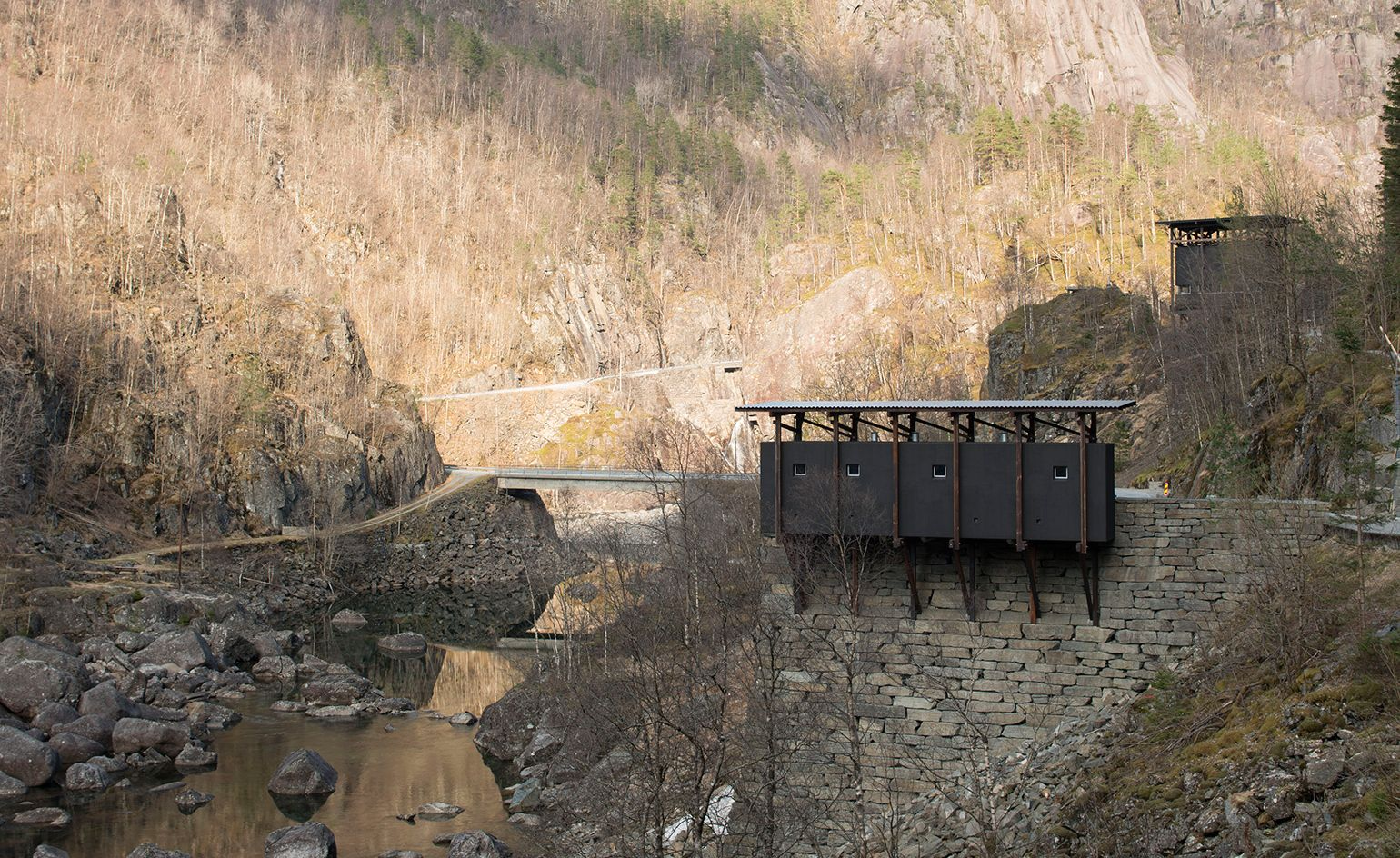 Touching The Void Peter Zumthor S Tribute To Norway S Mining Past