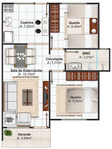 disenos-de-casas-pequenas-pero-comodas casa para vender