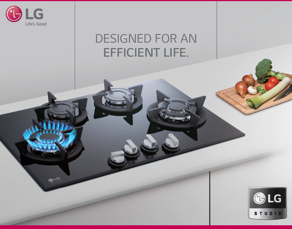Enhance your lifestyle with lg triple blaze burner now live