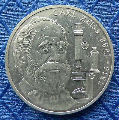 Silbermünze 10 Dm Deutschland 1988 Carl Zeiss Prägestätte F Gut