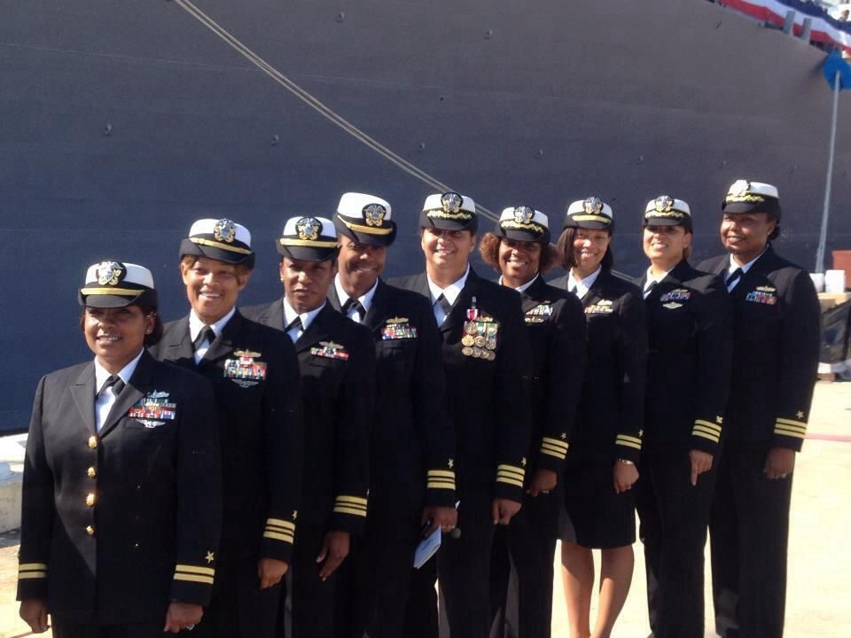 On 24 February 2012 Commander Monika W. Stoker became the