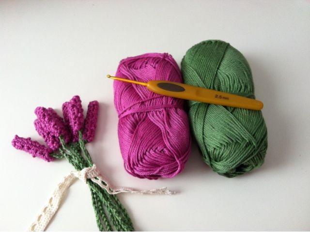 Maaikoe Tutorial Lavendel Haken Huis Tuin En Keuken Haken