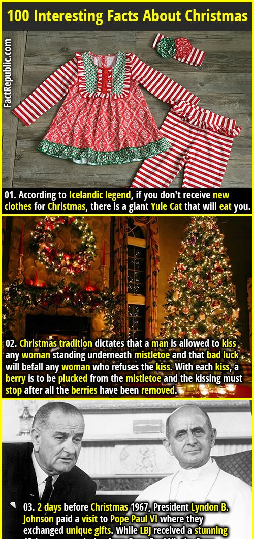 100 Interesting Facts About Christmas Fact Republic Interesting Facts About Christmas Fun Facts Wtf Fun Facts