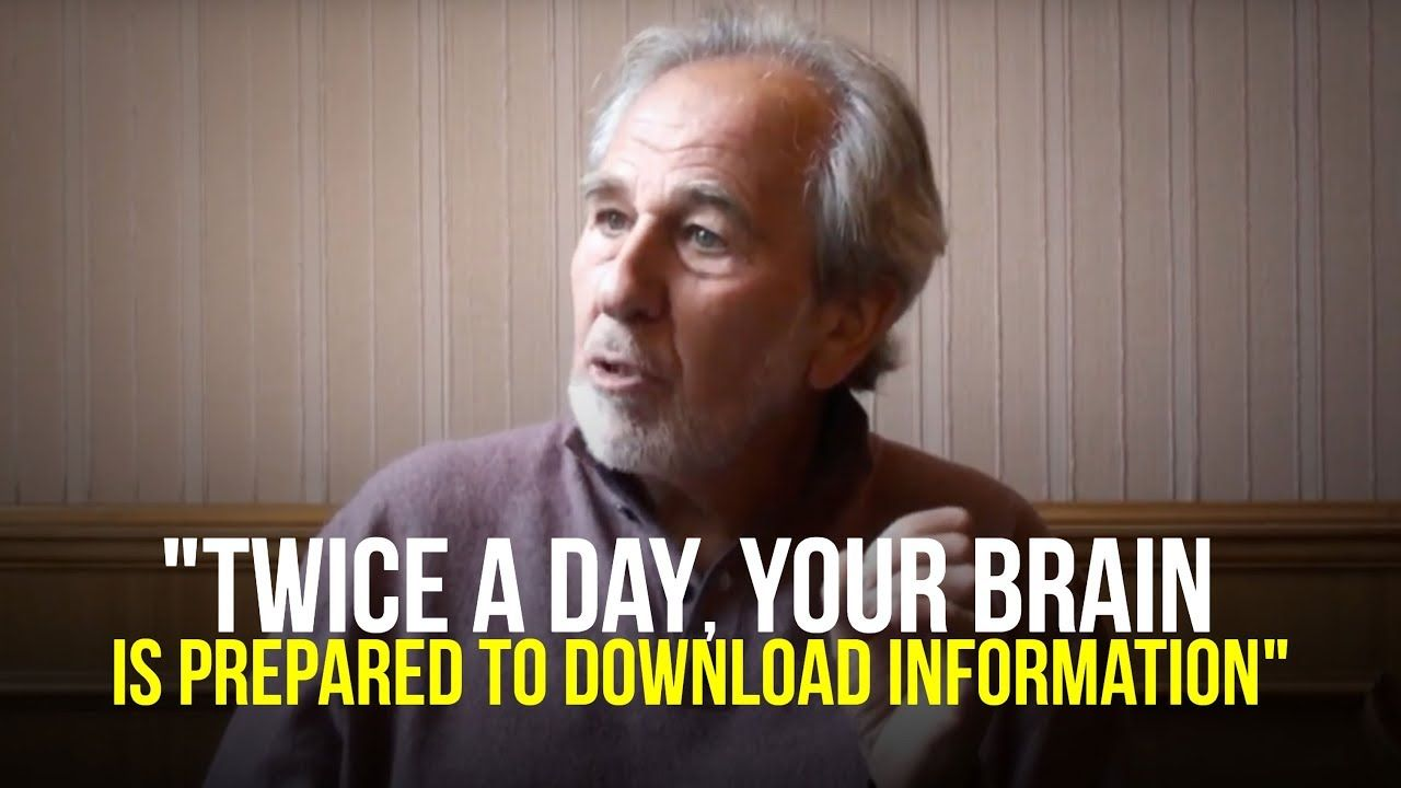 Do It Twice A Day Dr Bruce Lipton Youtube Online Therapy Psychology Today Hypnosis