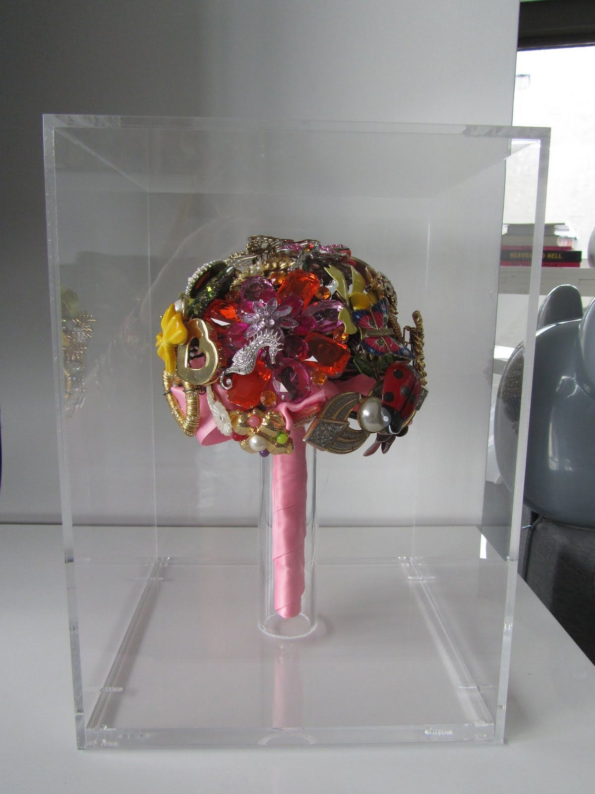 Just new are these special Brooch Bouquet Holders Custom created ...