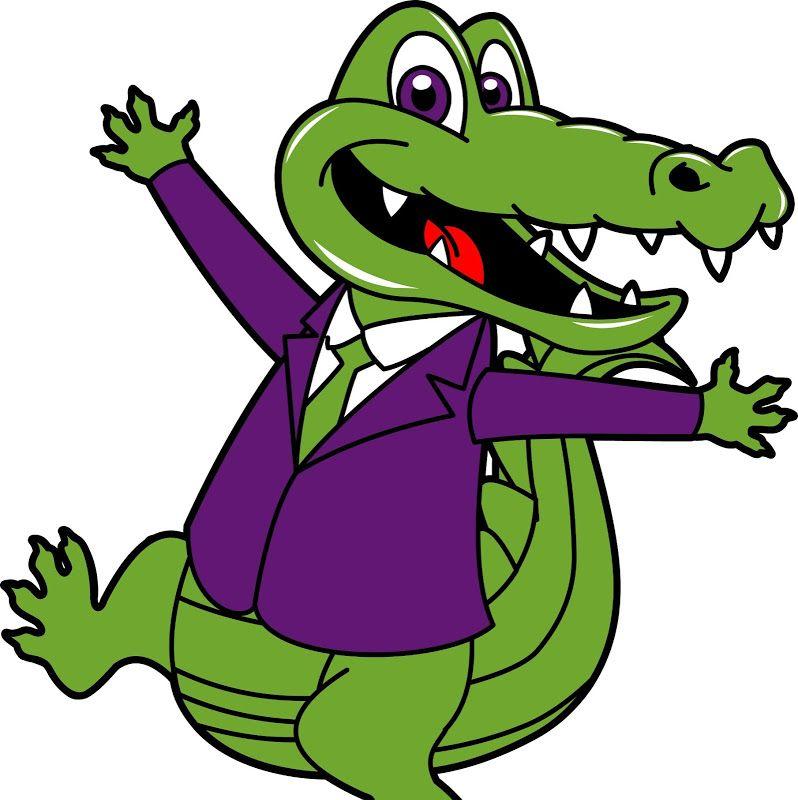 a05 01 cartoon alligator clipart 2 jpg crocodile pic pinterest rh pinterest com alligator clip art for teachers alligator clip art images