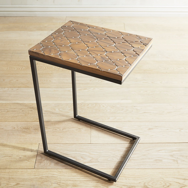 Mikanasa Wood C Table Natural Table Furniture Living Room