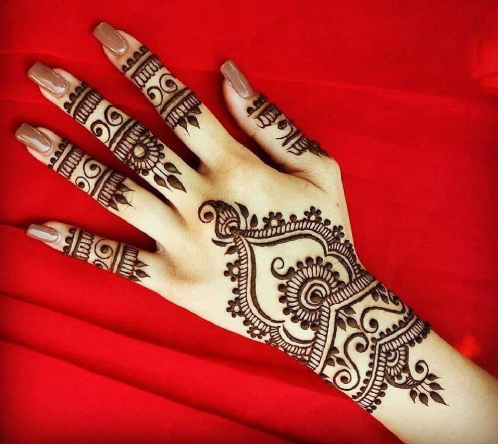 Latest mehndi designs 2016 2017 top 47 mehndi styles - Back Hand Mehndi Design Is A Style Which Which Will Be Used By The Women Of All The Word In This Article We Collect Back Hand Mehndi Designs 2017 For You