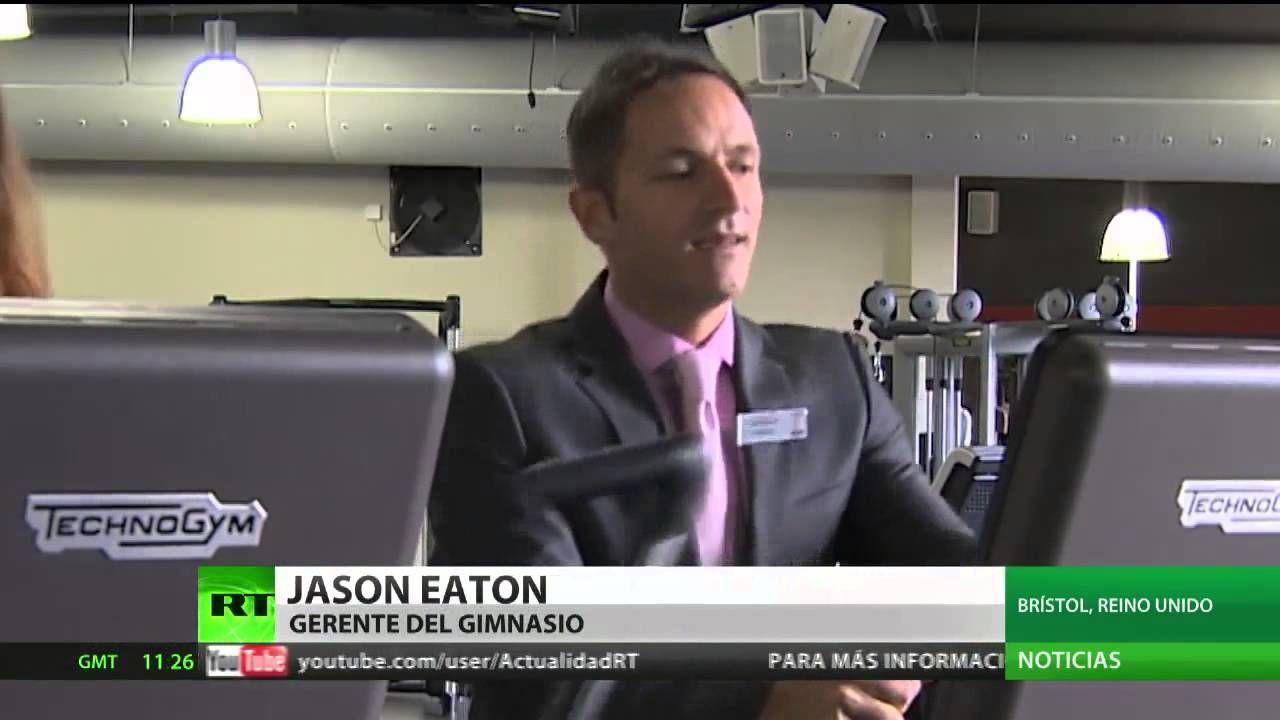 Inglaterra: Innovador gimnasio conecta máquinas a un generador de electr...