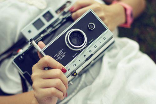 Polaroid Land 360 Fashion Design Jobs Vintage Cameras Photography