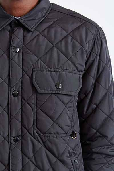 CPO Russo Quilted Shirt Jacket - Urban Outfitters | wardrobe ... : quilted shirt mens - Adamdwight.com