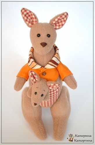 Tilda kangaroo - tutorial | FELT | Pinterest | Schnittmuster baby ...