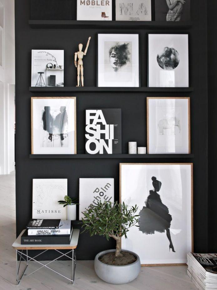 étagère porte cadre comment lutiliser et la détourner joli place maison luxeidées pour