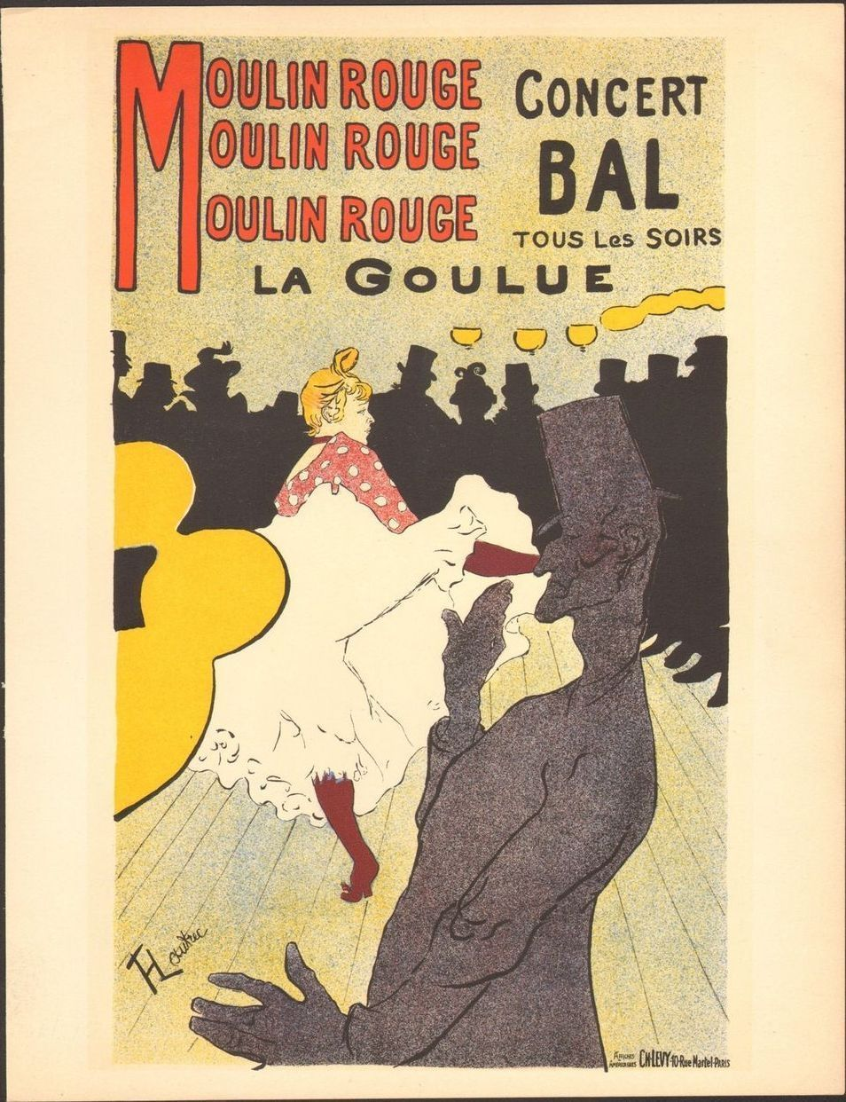 1891 poster by Toulouse-Lautrec