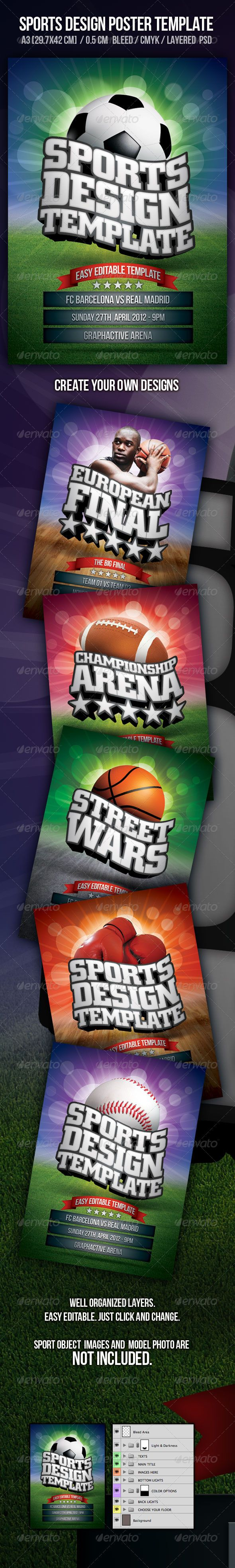 Poster design download - Sports Poster Design Template Tournament College Event Click Here To Download