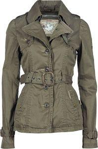 Mijn lievelings jas - de Khujo Tampa jas in olive!!!