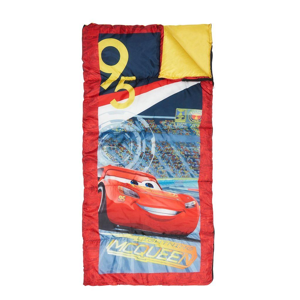 Disney Pixar Cars 3 Lightning Mcqueen Sleeping Bag By Exxel