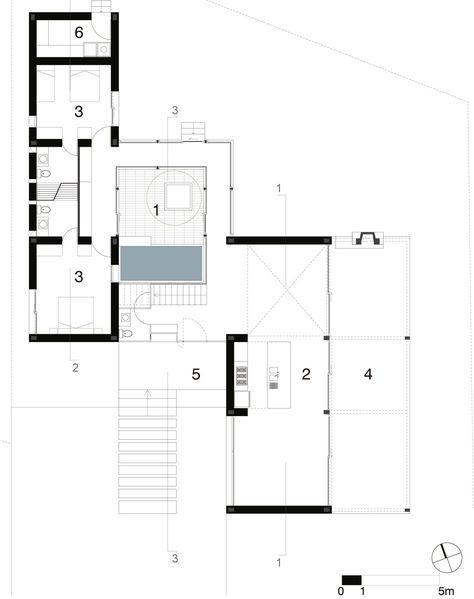 Gallery Of Cotacachi House Arquitectura X 28 Architectural Floor Plans Small House Plans Floor Plans