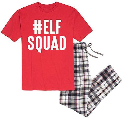 1cfe9c3b0dd1e Christmas pajamas, family pajamas, matching pajamas, elf squad, red ...