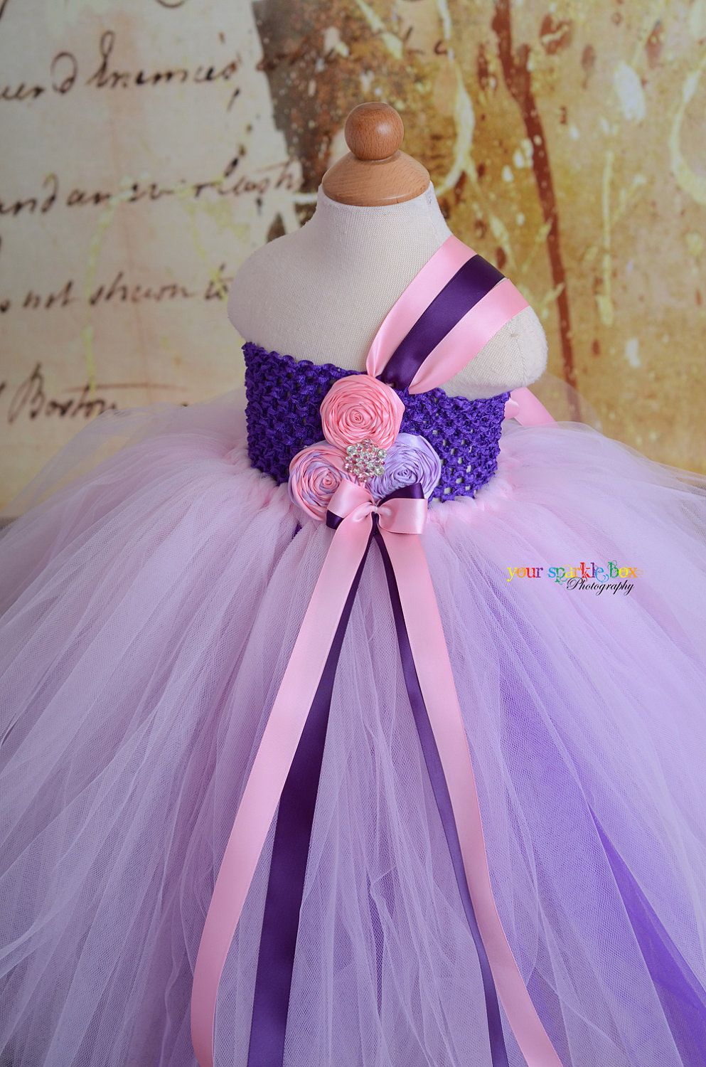 Purple Pink Lavender Tutu Dress Could Easily Substitute The Dark Purple On The Bodice On Tulle Underneath With The Purple Tutu Dress Purple Tutu Tutu Dress [ 1500 x 993 Pixel ]