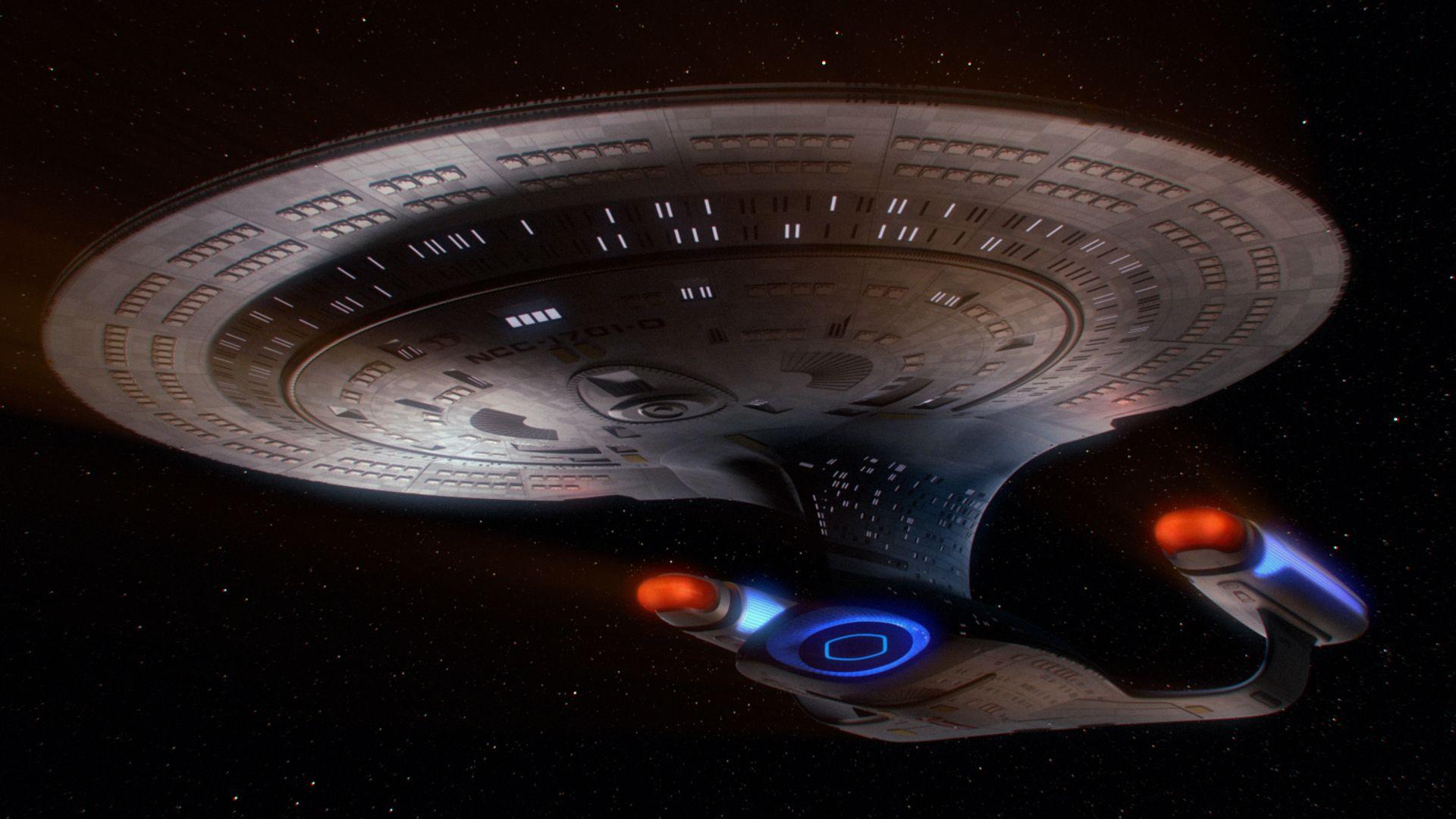 Uss enterprise ncc 1701 d galaxy class saucer separation r flickr - Enterprise D