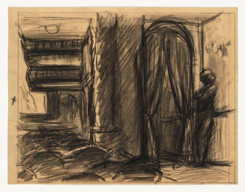Edward Hopper (18821967), Study for New York Movie, 1938