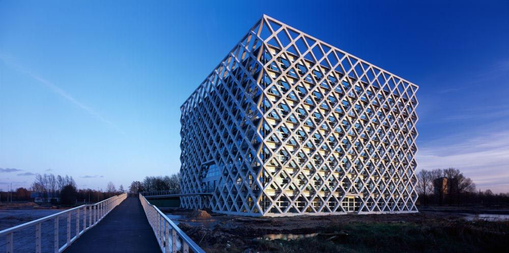 Atlas-Building-exterior-facade-monolithic-building-bold-cube ...