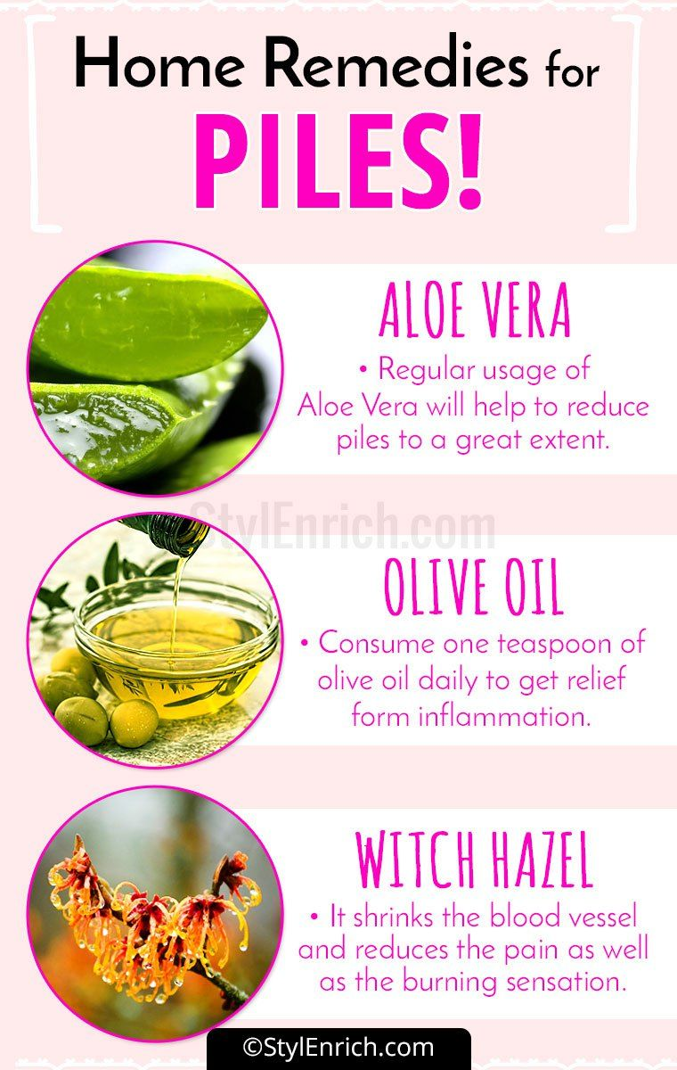 Home Remedies For Piles That Will Work And Give Instant Relief