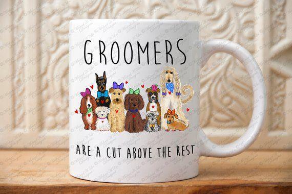 Dog Groomers gift, Groomers mug, Gift for Pet Groomers, Pets gift, Dog lovers gift, gift for groomer