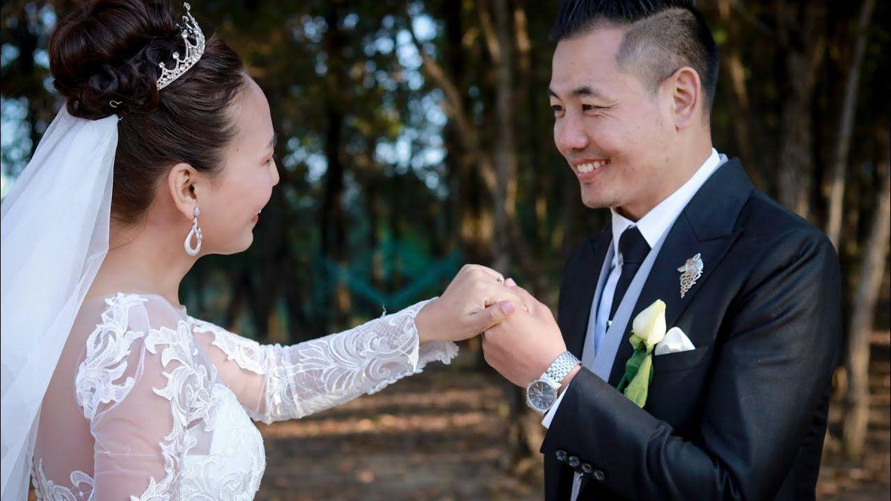 Chon And Aso Wedding Video In 2020 Wedding Video Wedding Wedding Dresses