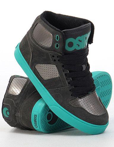 Zapatos grises Osiris para hombre Wo830FqE