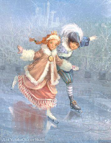 Cute..... Prince and Princess by Snowskadi