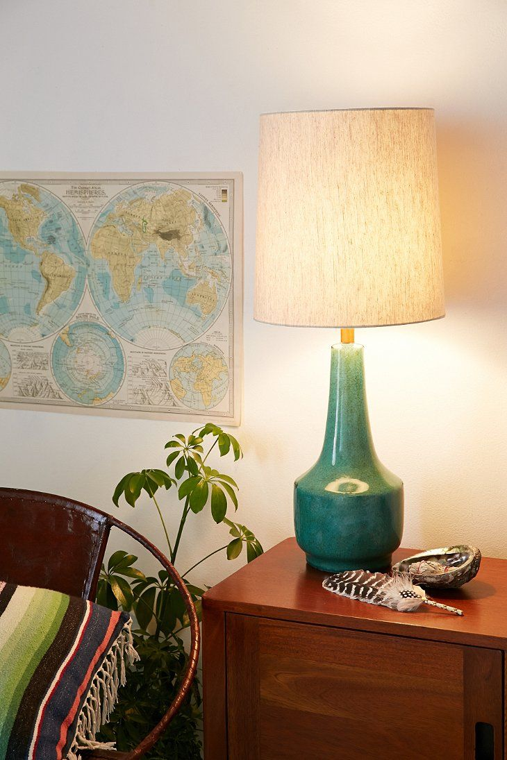 Teal lamp shades table lamps style light design most decorative - Spaces