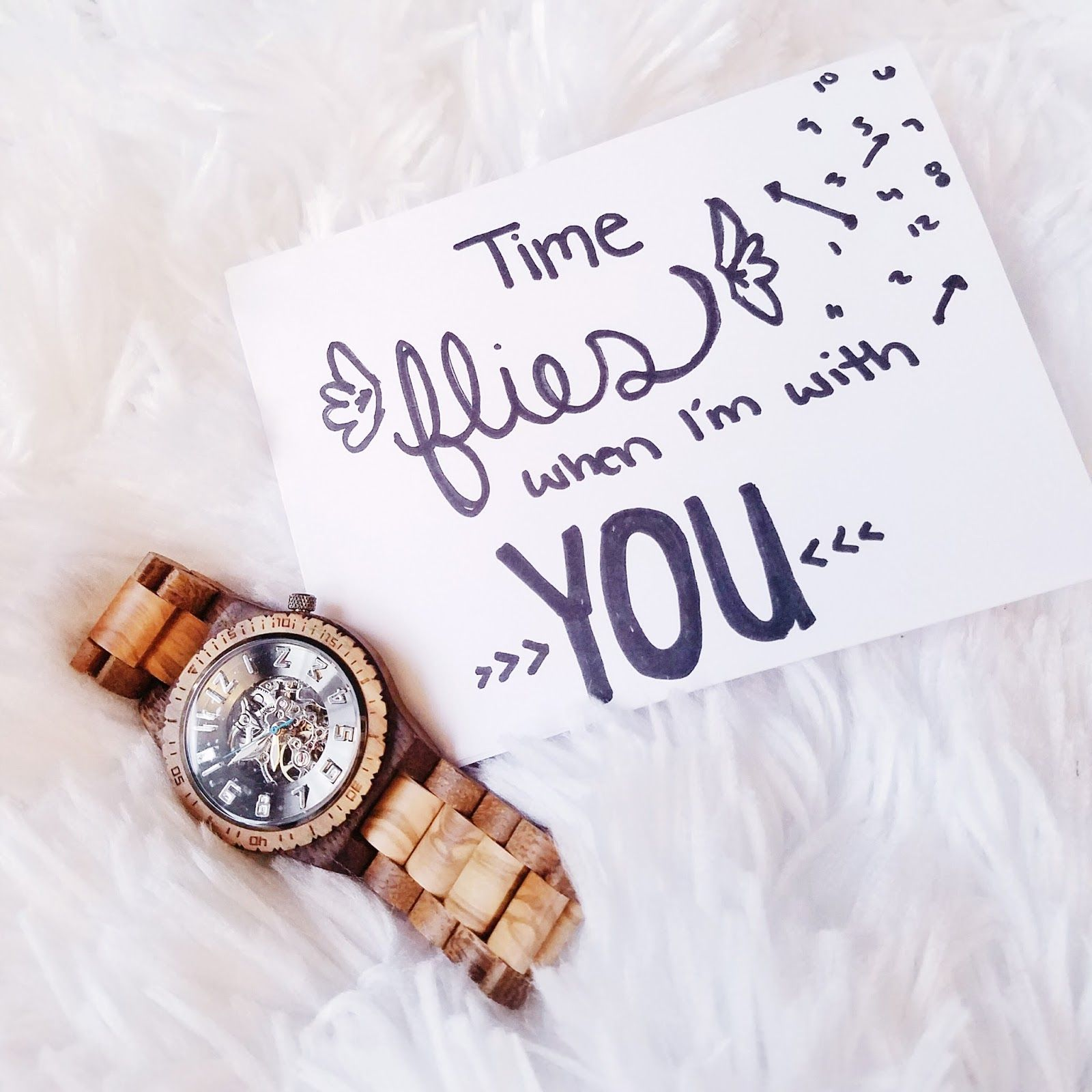 A timeless gift wooden watch boyfriends and gift for Gift to give your boyfriend for his birthday