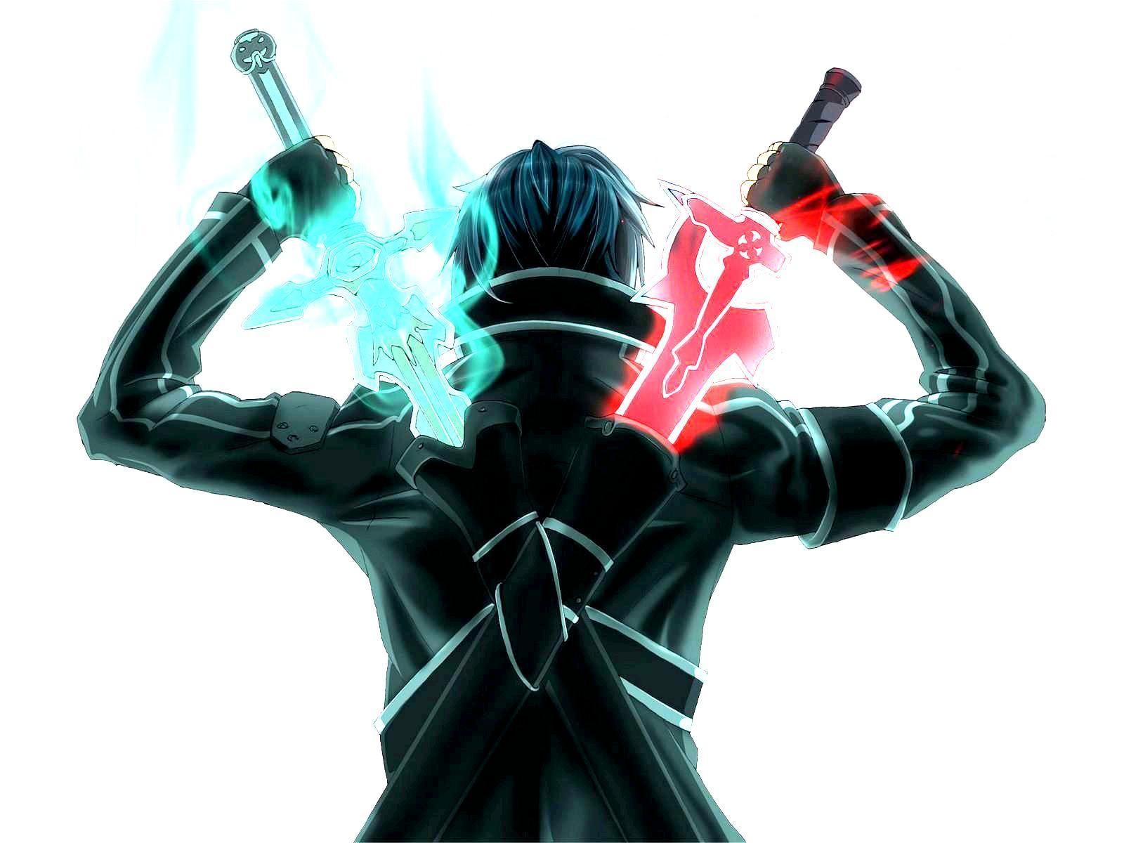 Sword Art Online Dual Wield Skill Sword Art Sword Art Online Kirito Kirito Sword