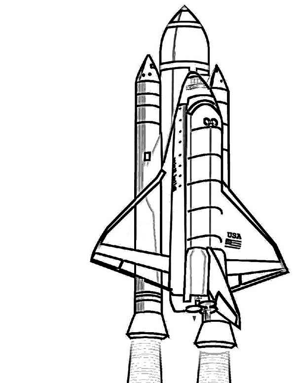 Nasa Discovery Space Shuttle Coloring Page Download Print Online Coloring Pages For Free Colo Space Coloring Pages Coloring Pages For Kids Coloring Pages
