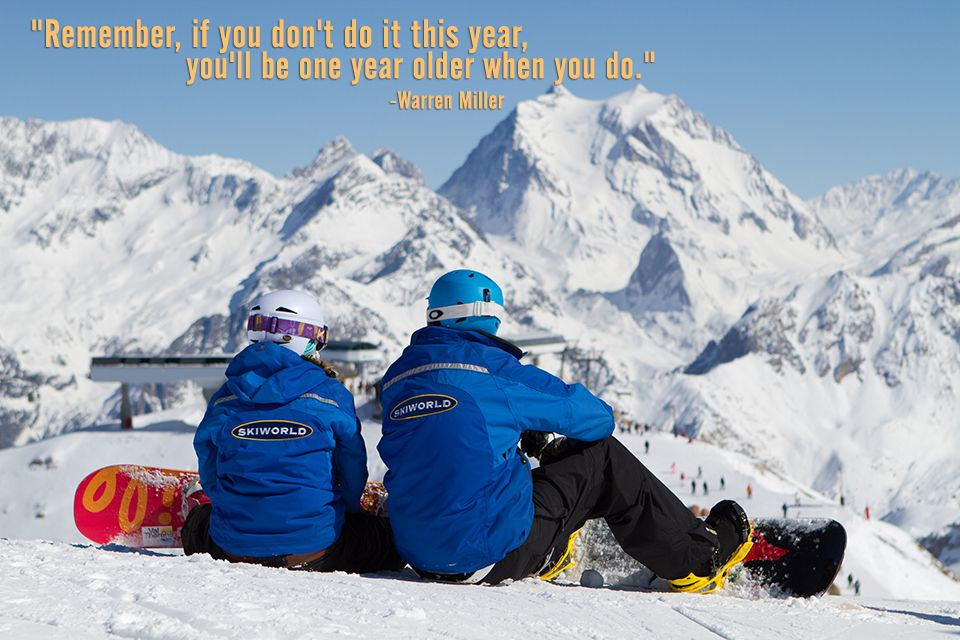 Warren Miller says it best... It's never too early to start skiing or snowboarding!
