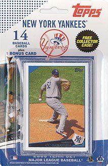 Topps Mlb Baseball Cards 2009 New York Yankees 14 Card Team Set