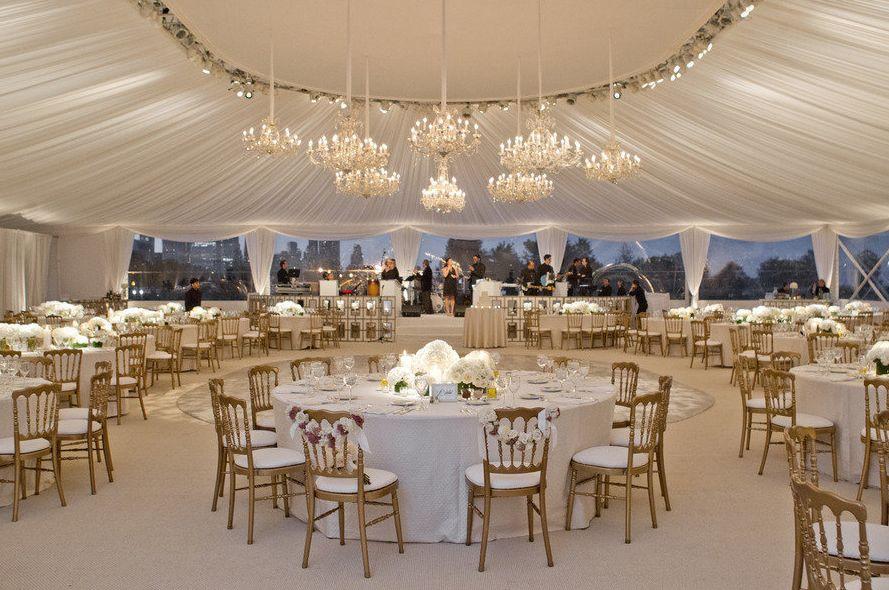 Northerly Island Chicago Wedding Venue Wedding reception